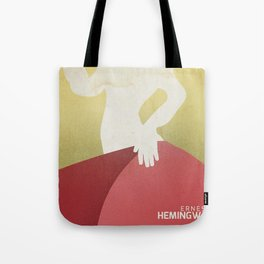 The sun also rises, Fiesta, Ernest Hemingway, classic book cover Tote Bag