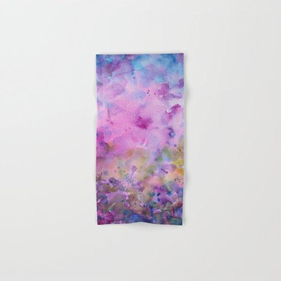 Purple Mystical Spring Hand & Bath Towel