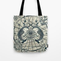 narwhal Tote Bags featuring Narwhal by AmKiLi