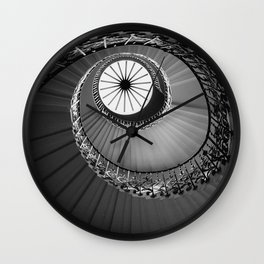 Tulip Staircase, Queen's House Wall Clock