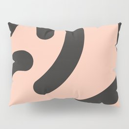 Funky Bold Rounded Stripes Pillow Sham