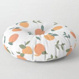 Clementines  Floor Pillow
