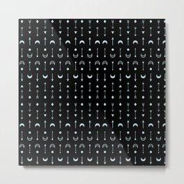 Symbols pattern #2 Metal Print