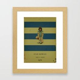 QPR - Bowles Framed Art Print
