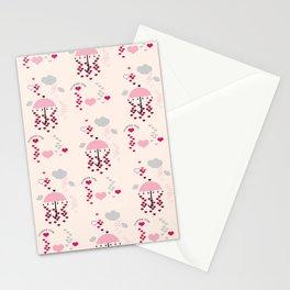 It's Raining Love Stationery Cards