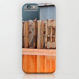 Lobster Traps in Wait iPhone Case