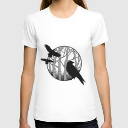 Black Birds II T-shirt