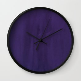 Give Me Violet Wall Clock