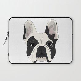 Custom Frenchie Portrait Laptop Sleeve