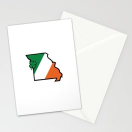 St. Patty Mo Stationery Cards