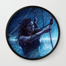 Captain Emma Swan Wall Clock