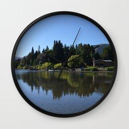 Lolog Lake, Patagonia Wall Clock