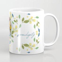 European Goldfinch - Bird Watercolor Coffee Mug