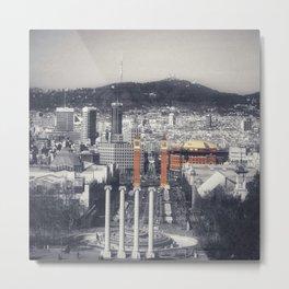 Me Encanta Barcelona Metal Print
