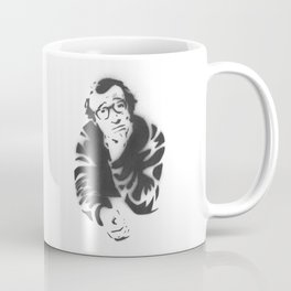 Woody Allen Portrait Coffee Mug