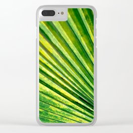 Pure Nature Clear iPhone Case