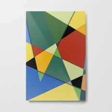 Abstract #323 Vincent's Palette Metal Print
