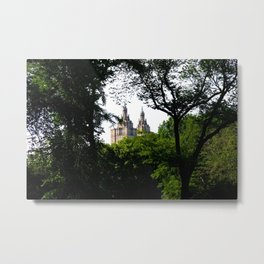 The Upper West Side Metal Print