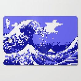 Pixel Tsunami Cutting Board
