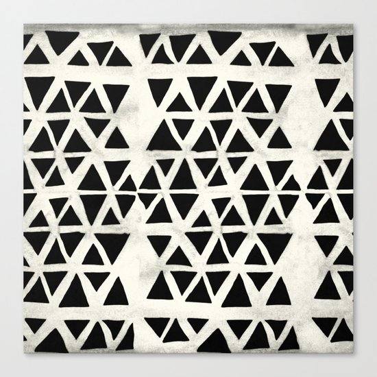Tribal Geometric Canvas Print