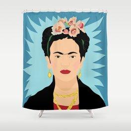 Frida Khalo | Bad Ass Women Series Shower Curtain