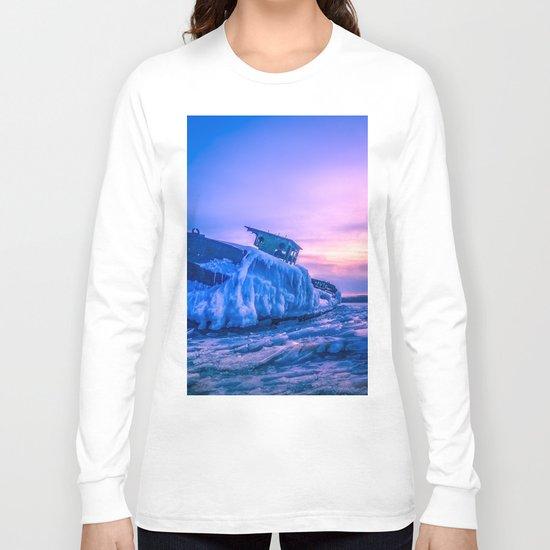 Frozen boat Long Sleeve T-shirt