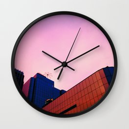 Finely Roofed Wall Clock