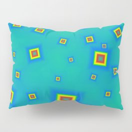 Pattern of disorganized multicolored paintings Pillow Sham