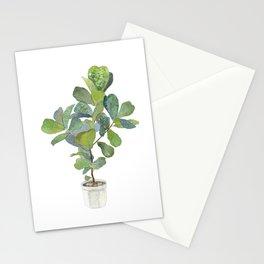 Fiddle Leaf Fig Tree Stationery Cards