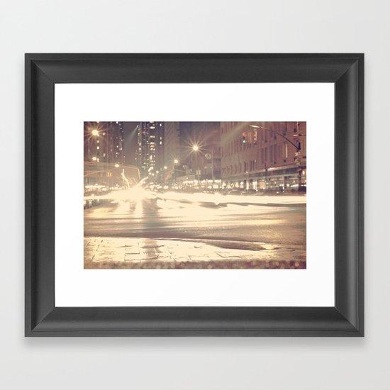 Photophobia Framed Art Print