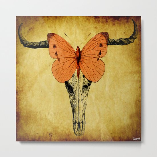 The mystic butterfly Metal Print