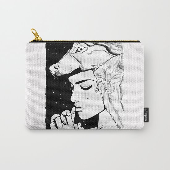 Wolf Whisper Carry-All Pouch