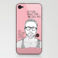 Hey Girl, The Gosling iPhone & iPod Skin