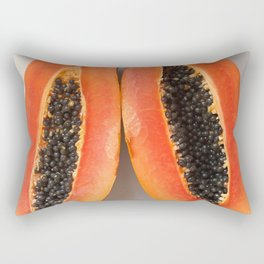 Papaya II Rectangular Pillow