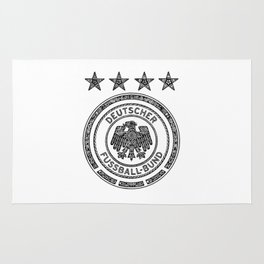 GERMANY NATIONAL FOOTBALL TEAM (DEUTSCHER FUSSBALL-BUND) Rug