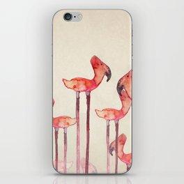Transmogrified Flamingo Colony iPhone Skin