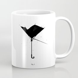 FIG.1: BROKEN UMBRELLA Coffee Mug