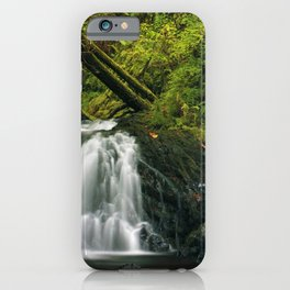 Photos USA Latourell Oregon Nature Waterfalls Moss iPhone Case