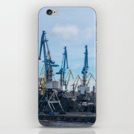 Harbor of Riga iPhone Skin