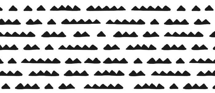 Hand Drawn Pyramids Coffee Mug
