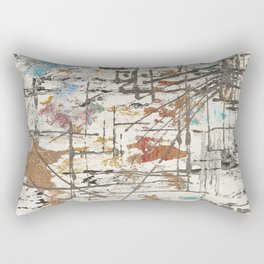 The cities chaos Rectangular Pillow