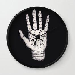 Mystic Palmistry Wall Clock