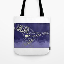 Duck soup in the sky Tote Bag