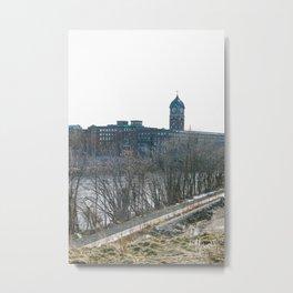 LAWRENCE CLOCKTOWER Metal Print