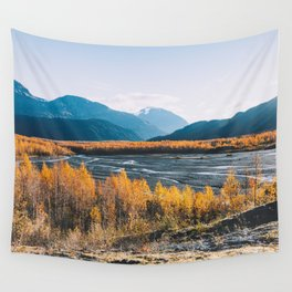 Alaskan Autumn - Kenai Fjords National Park Wall Tapestry