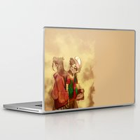 gravity falls Laptop & iPad Skins featuring Gravity Falls by frigates
