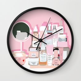 Sort of Obsessed Top Shelf Wall Clock