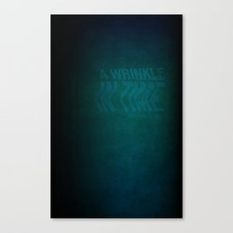 Wrinkle In Time: Book Cover Redesign Canvas Print