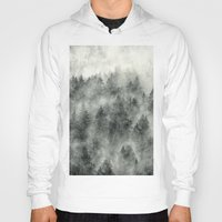 surrealism Hoodies featuring Everyday by Tordis Kayma