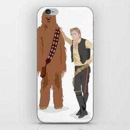 Han Solo and Chewbacca iPhone Skin